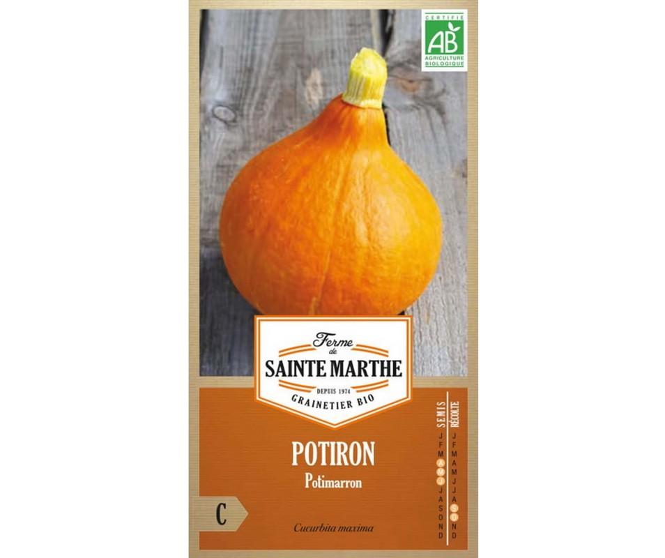 POTIRON POTIMARRON AB BIO FERME DE SAINTE MARTHE