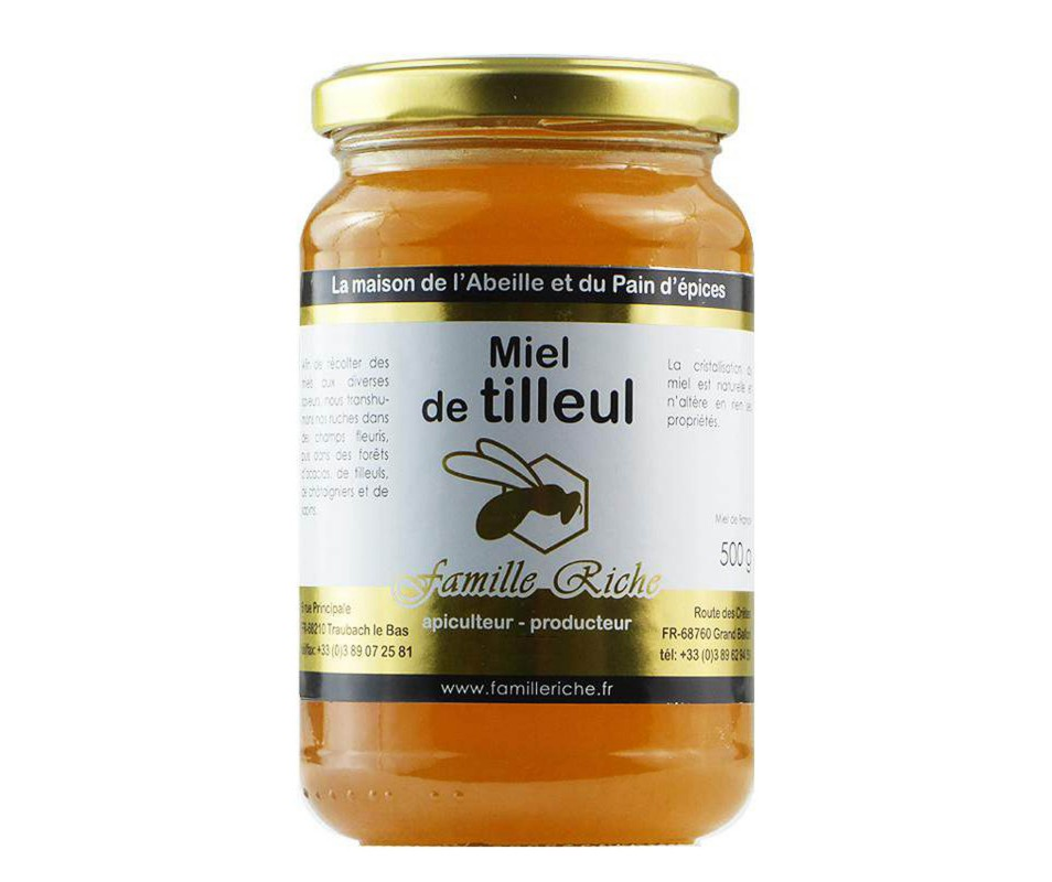 MIEL DE TILLEUL 250GR D'ALSACE