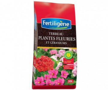 TERREAU GERANIUMS 20L