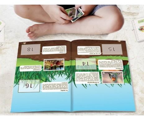ALBUM STICKER MJ POUSSE 32 PAGES