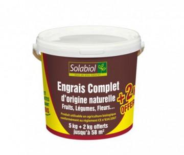 ENGRAIS COMPLET ORGANIQUE 5 + 2KG OFFERTS