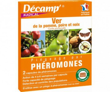 PHEROMONE CONTRE LE VER DE LA POMME