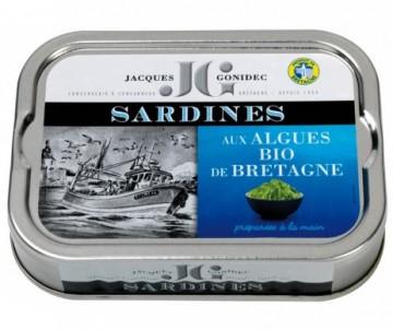 SARDINES AUX ALGUES DE BRE BIO