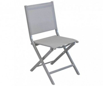 CHAISE PLIANTE THEMA ICE/ARGENT
