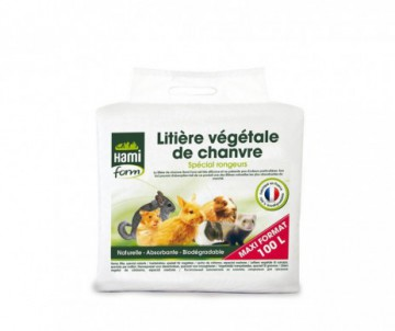 LITIERE CHANVRE 100L HAMIFORM