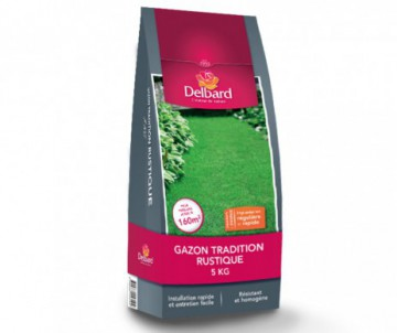 GAZON TRADITION RUSTIQUE DELBARD 5KG