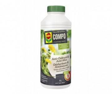 DESHERBANT ET ANTI-MOUSSES NETOSOL GREEN SUPER CONCENTRE 1L- POUR 80 M2 - COMPO