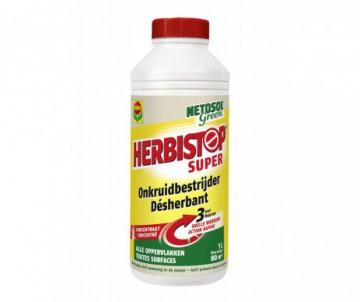 DESHERBANT TOUTES SURFACES 1L NETOSOL GREEN SUPER CONCENTRE 1L - POUR 80 M2 - COMPO