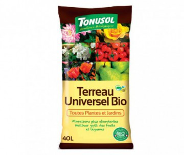 TERREAU UINVERSEL 40L- 100 % NATUREL