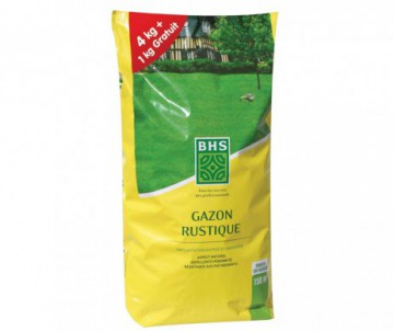 GAZON TRADITIONNEL RUSTIQUE 5KG+25%GRATUIT