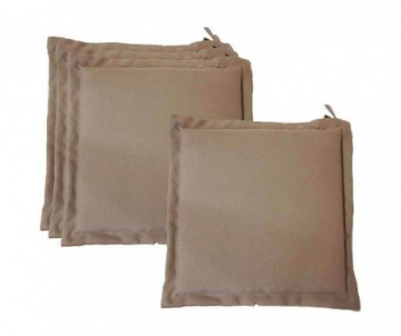 COUSSIN GALETTE 40X40CM TAUPE