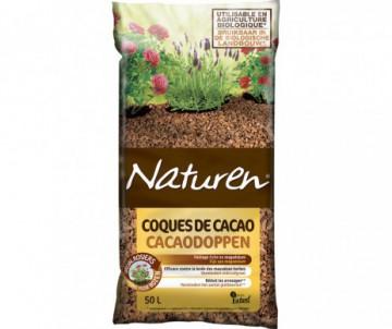 PAILLAGE COQUE CACAO 50L - NATUREN