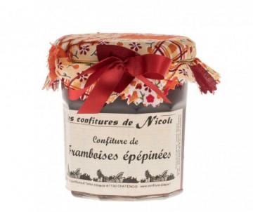 CONFITURE FRAMBOISES EPEPINEE 250GR