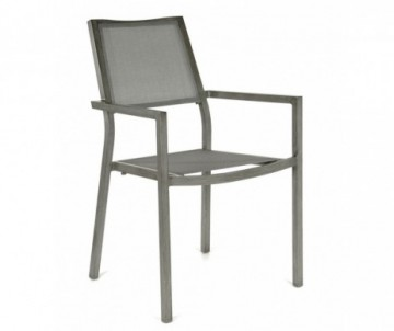 FAUTEUIL FLORENCE ICE/ARGENT