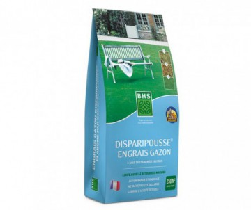 ENGRAIS GAZON DISPARIPOUSSE 10KG - POUR 250 M2 - BHS