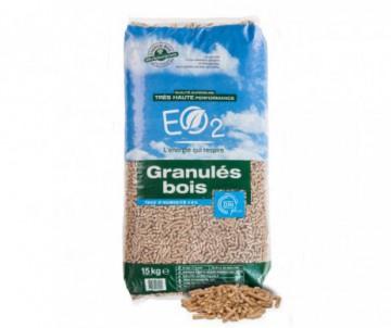 PELLETS/GRANULES BOIS DIN + 15KG