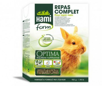 REPAS COMPLET HAMI LAPIN 900G