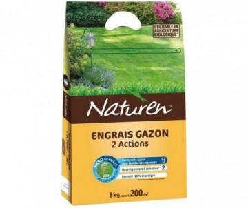 ENGRAIS GAZON 2 EN 1 - 18KG ORGANIQUE