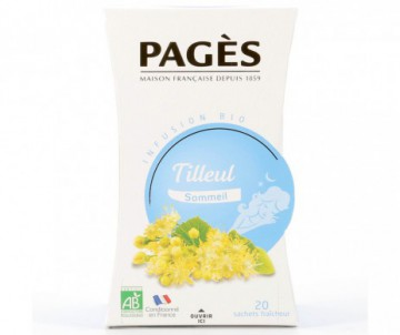 INFUSION TILLEUL SOMMEIL BIO PAGES