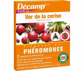 PHEROMONES CONTRE LE VERS DE LA CERISE X 2 CAPSULES - DECAMP