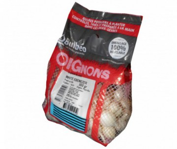 OIGNON WHITE EBEN CALIBRE 14/21MM FILET DE 500G