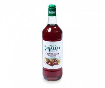 SIROP CHATAIGNE 1 LITRE BIGALLET