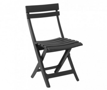 CHAISE PLIANTE MIAMI ANTHRACITE