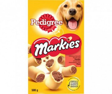 BISCUITS PEDIGREE MARKIES FOURRES D'OS A MOELLE 500GR