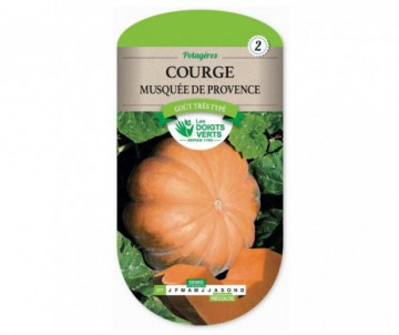 COURGE MUSQUEE DE PROVENCE LES DOIGTS VERTS
