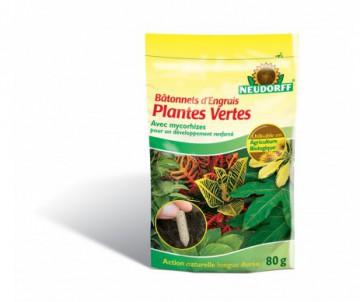 BATONNETS ENGRAIS PLANTES VERTES - SACHET DE 40 BATONNETS