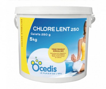 CHLORE LENT 250GR 5 KG