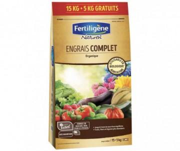 ENGRAIS COMPLET 15+5KG ORGANIQUE