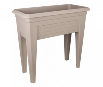 CARRE POTAGER IZIGARDEN 80CM TAUPE