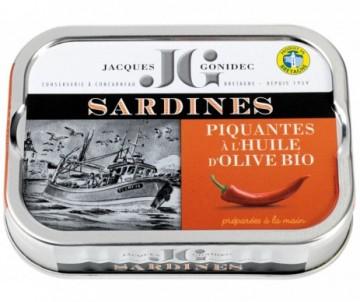 SARDINES OLIVE PIQUANTE BIO