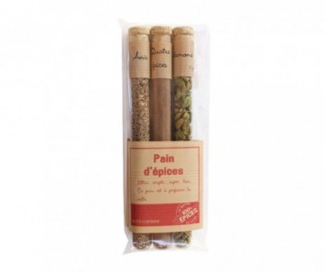 3TUBES PAIN D EPICES 45G