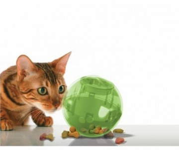 JOUET DISTRIBUTEUR CROQUETTES POUR CHAT SLIM CAT