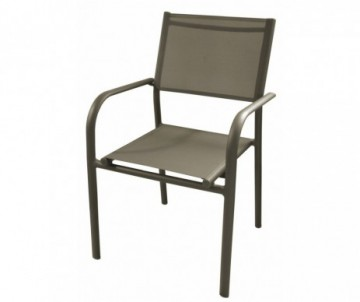 FAUTEUIL EMPILABLE DUCA CAFE/CAFE 51X56X87CM