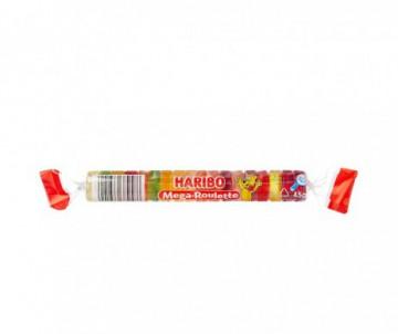BONBON HARIBO MEGA ROULETTE FRUIT 45GR