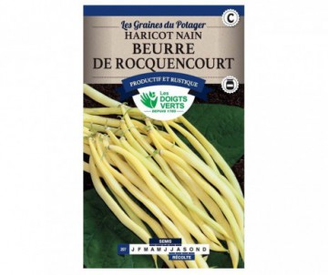 HARICOT NAIN MANGETOUT BEURRE DE ROCQUENCOURT 250GR