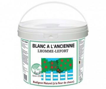 BLANC A L'ANCIENNE SEAU DE 3L