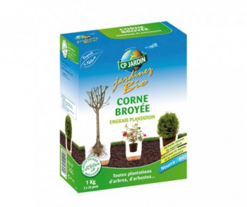 CORNE BROYEE 1KG - UTILISATION DE 2 A 20 PIEDS - CP JARDIN