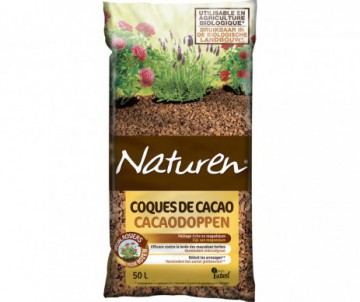 PAILLAGE COQUE CACAO 50L - NATUREN
