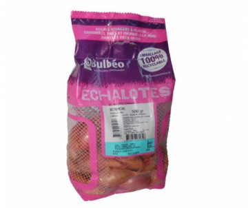 ECHALOTE LONGUE LONGOR CALIBRE 15/35 FILET DE 500G