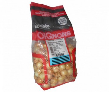 OIGNON ROND RIESEN CALIBRE 14/21MM FILET DE 500G