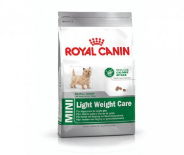 CROQUETTES MINI LIGHT WEIGHT CARE 8KG ROYAL CANIN